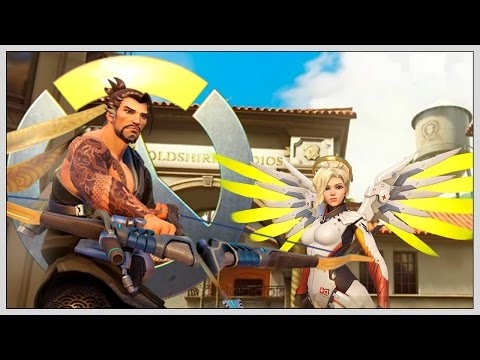 HEAL ON POINT -  Norsk Overwatch Gameplay Let's Play