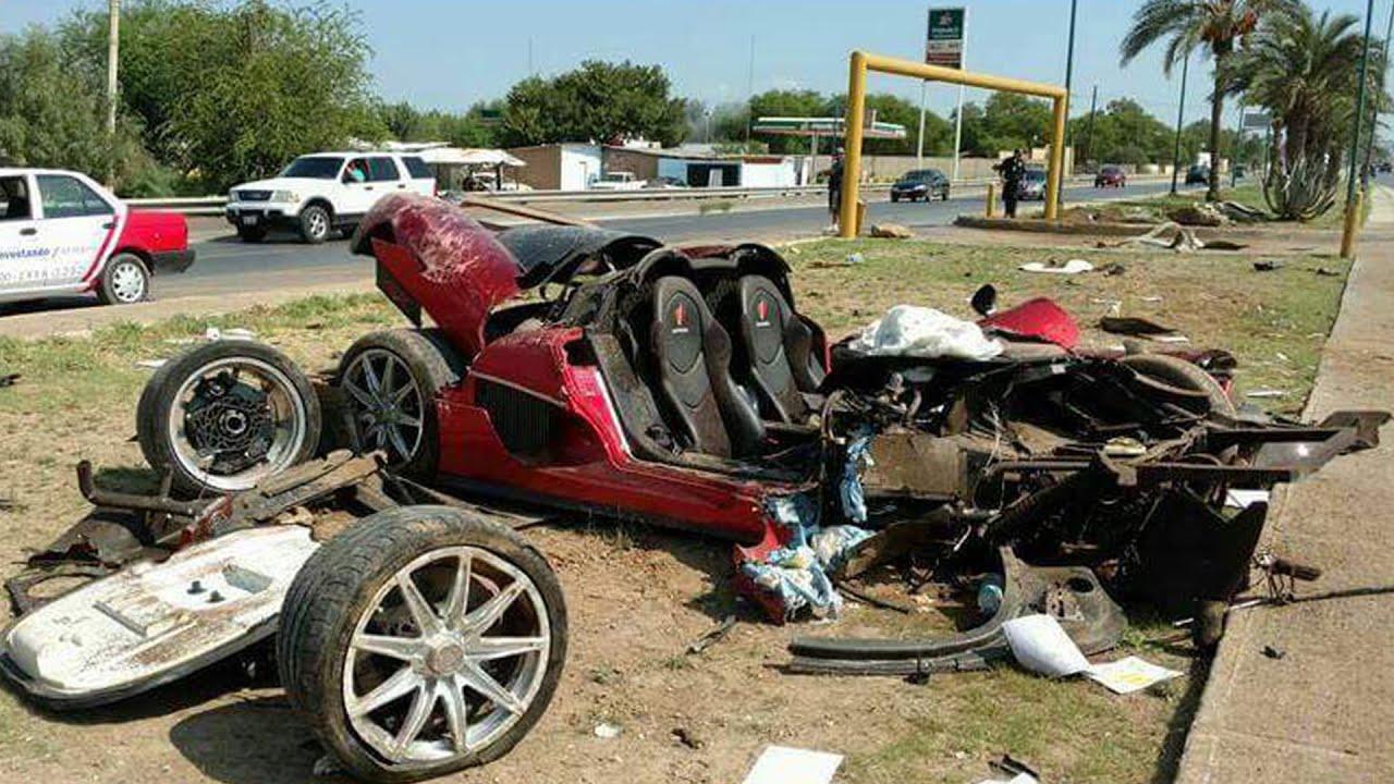 KOENIGSEGG CCX DEADLY CRASH IN MEXICO 2016 - YouTube