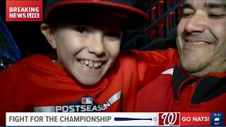 Washington Nationals advance to World Series! | NATS FANS GO CRAZY !