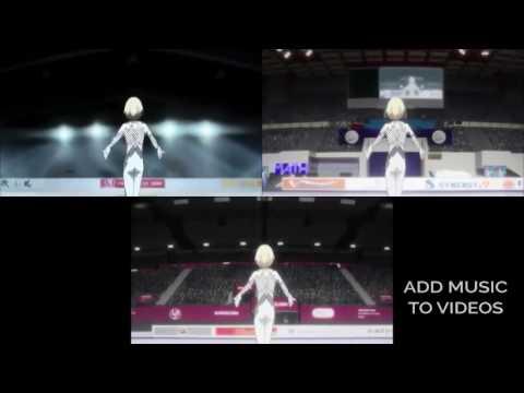 Yurio Ice Skating to Ra Ra Rasputin