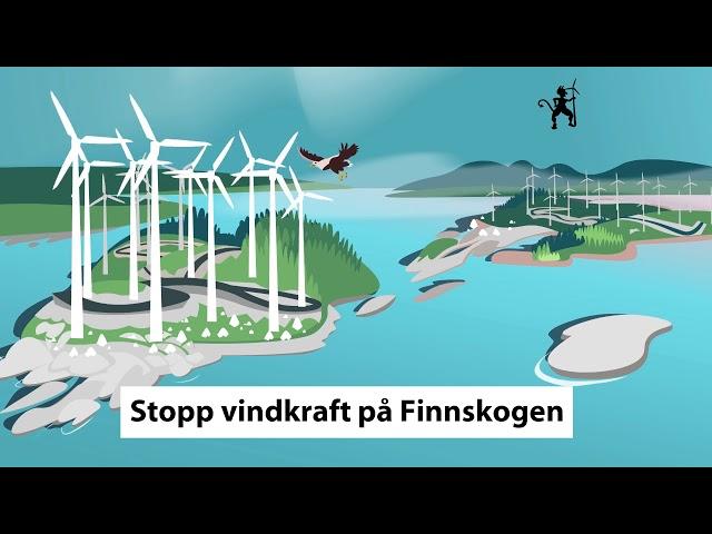 Stopp vindkraft på Finnskogen