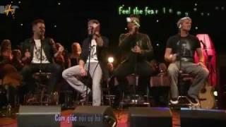 Viva La Vida - Westlife  live in O2,Dublin [vietsub]