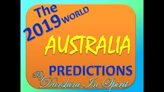 2019 PRED CT ONS For AUSTRAL A By Darshini  N Spirit