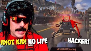 DrDisRespect Dies and Spectates Hacker Stream Sniping Him in Apex Legends (3/14/2019)