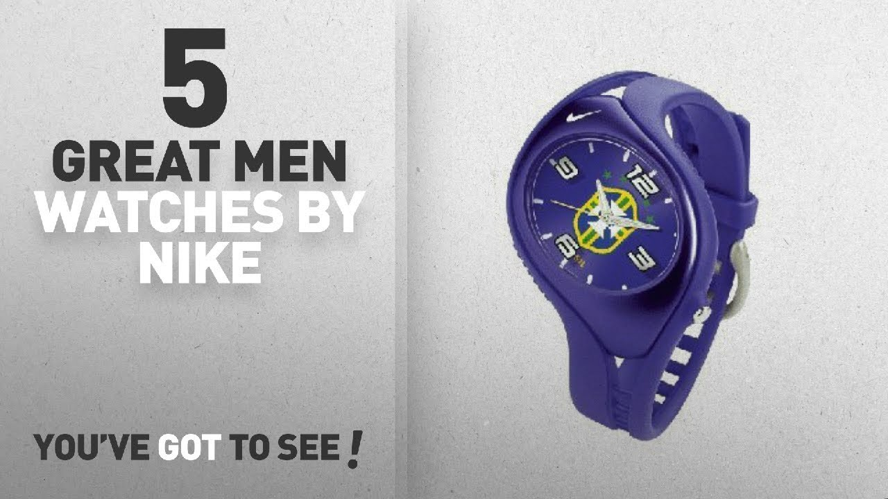 e8164f323a07 Top 10 Nike Men Watches   Winter 2018    Nike Triax Blaze Junior Soccer  Federation Brasil Team Watch