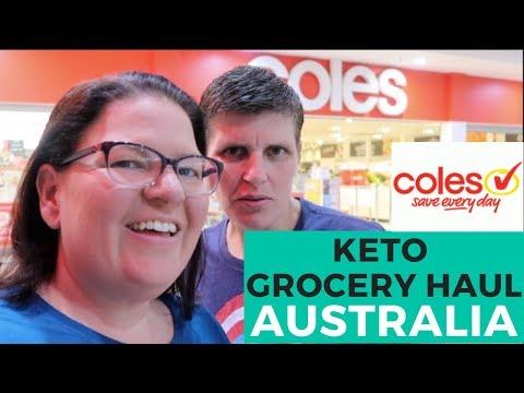 Coles Grocery Haul - Australian Keto Grocery Haul