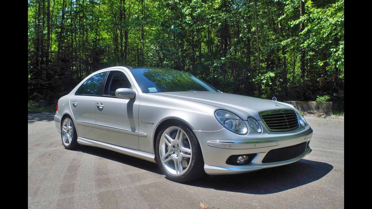 Mercedes Benz E55 Amg W211 Youtube