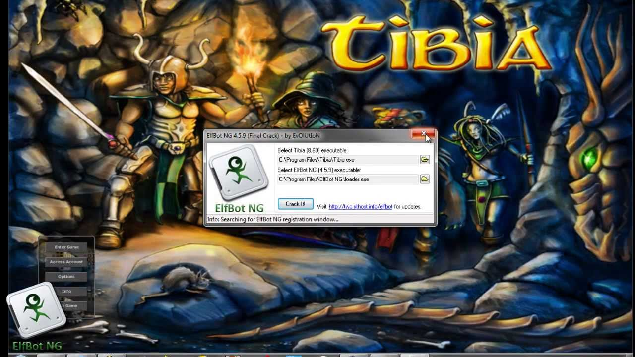 download do elf bot 860 ja crackeado