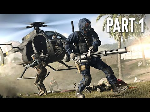Call of Duty: Modern Warfare - Spec Ops Campaign Gameplay Walkthrough, Part 1! (COD MW Gameplay)