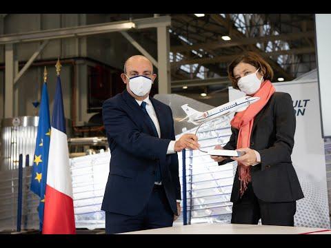 Visite de Mme Florence Parly, ministre des Armées - 19/11/20 - Dassault Aviation