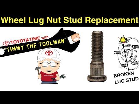 Wheel Lug Nut Stud Replacement