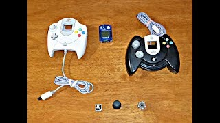 Моя Модификация / Усовершенствование Аналогового Джойстика для  Sega Dreamcast