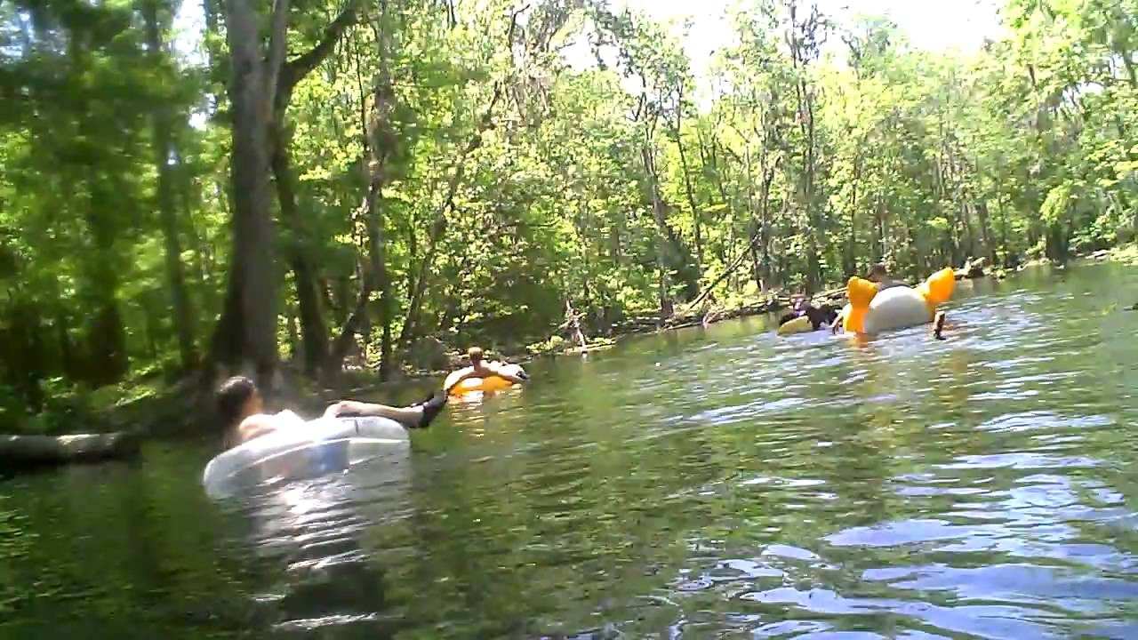 Ichetucknee Springs tubing (with fursuit) 2009 - YouTube