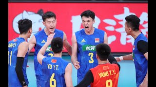 China vs. Japan  2021 Tokyo Men Volleyball Challenge Cup Game 2