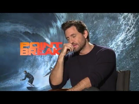 "Point Break: Edgar Ramirez ""Bodhi"" Official Movie Interview"