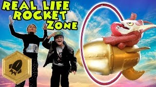 Real Life Rocket Zone / A Trigger Happy Adventure (Skylanders Swap Force)