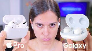 APPLE vs SAMSUNG LA BATALLA FINAL!!!!!!! AirPods Pro
