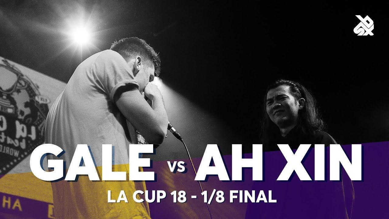 GALE vs AH XIN | La Cup WORLDWIDE 2018 | 1/8 Final