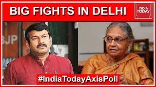 Who Is Winning Key Lok Sabha Seats In Delhi? | India Today Exit Poll 2019