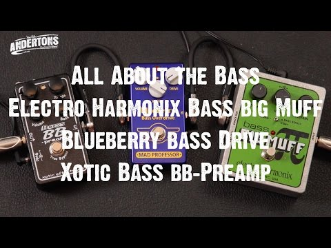 All About the Bass - Bass Muff & Mad Professor Blueberry Drive & Xotic BB Bass Preamp