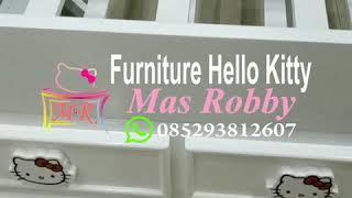 Hello Kitty Ranjang Doble Bed