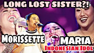 MUST WATCH! MARIA indonesian idol x Morissette | NEVER ENOUGH