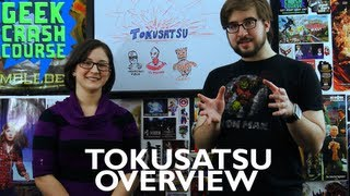 Tokusatsu Overview - Geek Crash Course