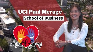 The Paul Merage School of Business | The Joy of Giving and UCI