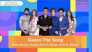 Housefull 4 | Guess The Song |Akshay|Riteish|Bobby|Kriti S|Pooja|Kriti K|Sajid N|Farhad| Oct 25