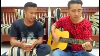 Janji suci yovie and nuno - (cover by andreas ft cristian)