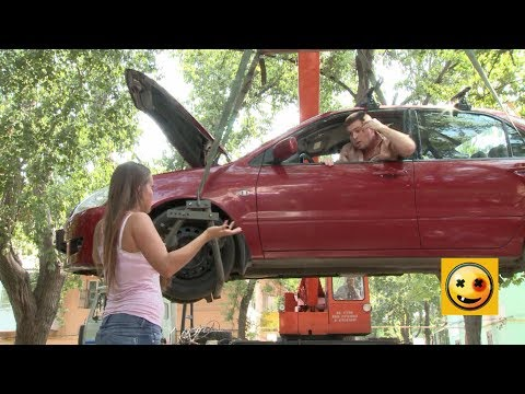 Crazy TV Pranks This Car Can Fly!