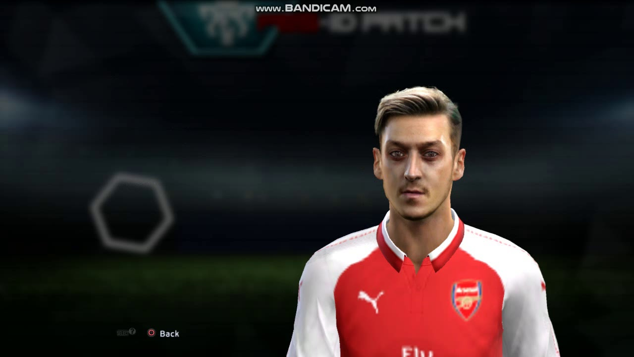 Pes 2013 Ozil New Face Hairstyle 2018