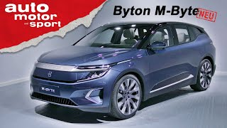 Byton M-Byte: Was kann das Elektro-SUV aus China? - (Review) IAA 2019 I auto motor und sport