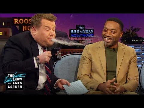SpitTakes w Jake Lacy, Chiwetel Ejiofor & Grace Helbig