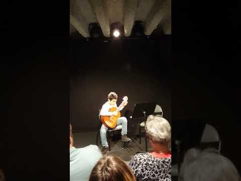 Yanis AISSAR 1er concert à l'auditorium MEC DESFORGES