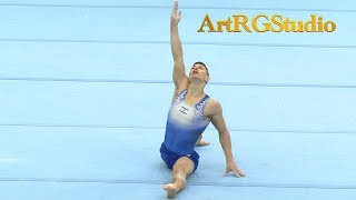 SOROKINE Michael (ISR) FX AA - 2018 Ukraine International Cup