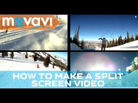 How to make a Split Screen video (Picture in Picture effect) - Movavi Video Suite 14