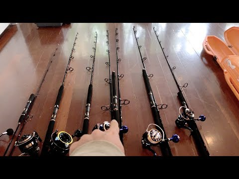 Fishing Trip Gear Preparation.