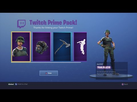 HOW TO GET FREE FORTNITE AND OTHER TWITCH PRIME PACK IN INDIA AND ANY COUNTRY(MAY 2018)