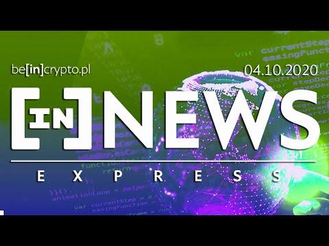 Monero do wyśledzenia, Cyfrowe euro, Krypto na aukcji - [in]NEWS Express - 04.10.2020