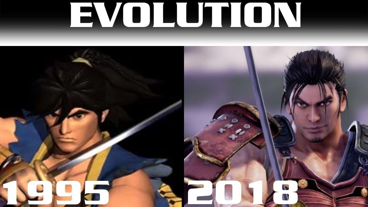 Evolution of Soul Calibur Games   1995 - 2018