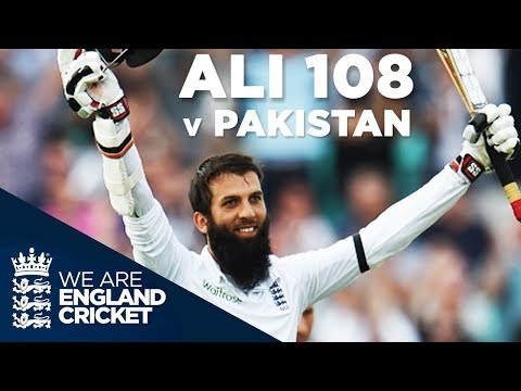 Moeen Ali Scores Exceptional Hundred Against Pakistan: The Oval 2016 - Full Highlights