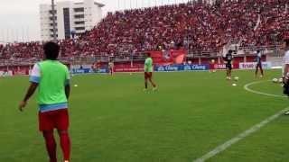 Full Warm up match Toyota Thai Premier League 2013 - ChonburiFC (THA).