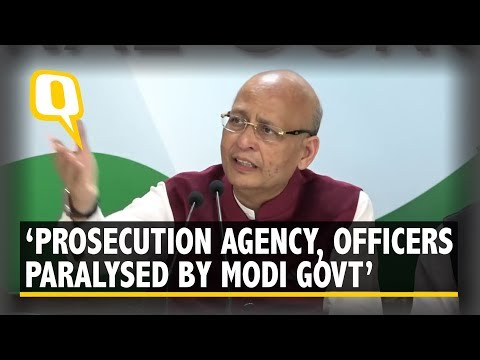 Congress Briefs Media Over CBI Crisis | The Quint
