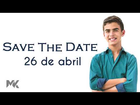 Save the Date Bar Mitzvah Mori Kraselnick