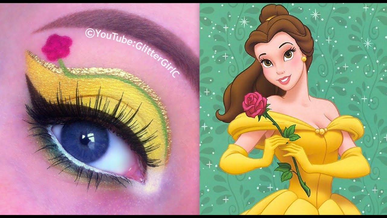 Disney S Belle Makeup Tutorial Beauty
