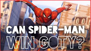 Can Spider-Man Win Game Of The Year? (and the GOTY contenders it has to beat)