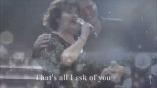 "Susan Boyle - Susan and Donny Osmond "" All I Ask Of You """