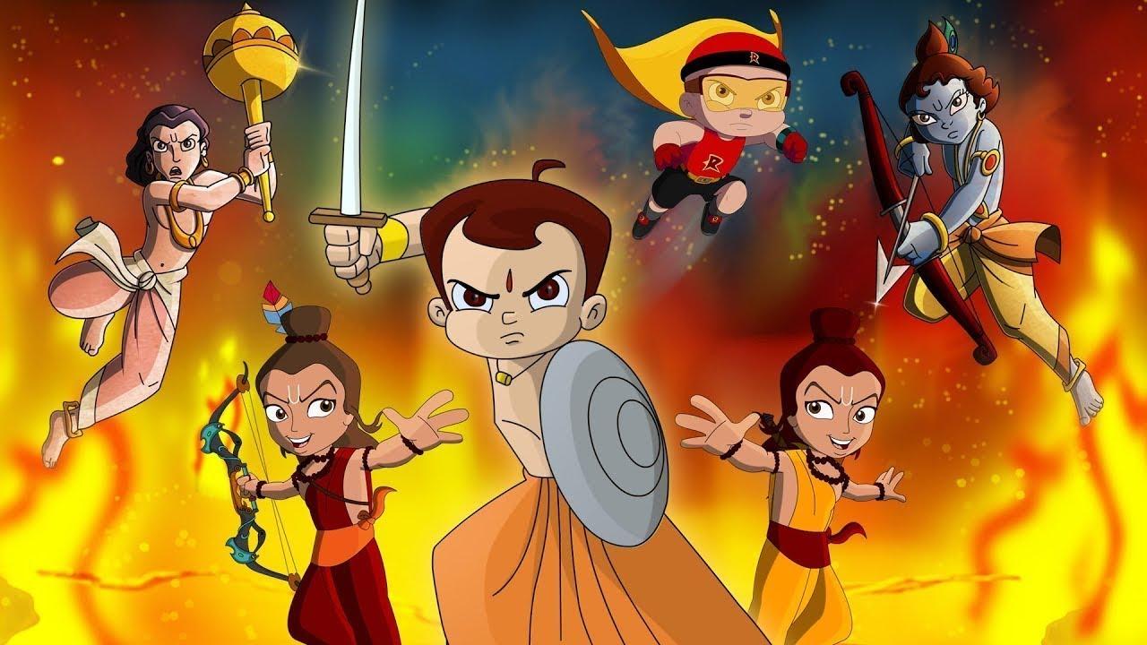 Wonder Warriors starring Chhota Bheem, Mighty Raju, Krishna Balaram & Luv Kushh