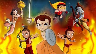 Wonder Warriors starring Chhota Bheem, Mighty Raju, Krishna Balaram & Luv Kushh